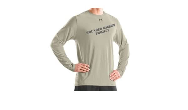 20256803 Men'S Wwp Ls Graphic T Tops By Under Armour, Desert Sand, XXX-Large:  Amazon.ca: Sports & Outdoors
