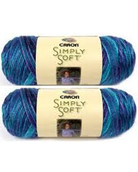 Bulk Buy: Caron Simply Soft Yarn Paints (2-pack) (Oceana) by Caron Simply Soft