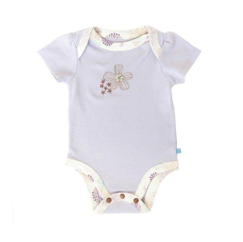 Finn + Emma Baby Girls' Lapshoulder Bodysuit