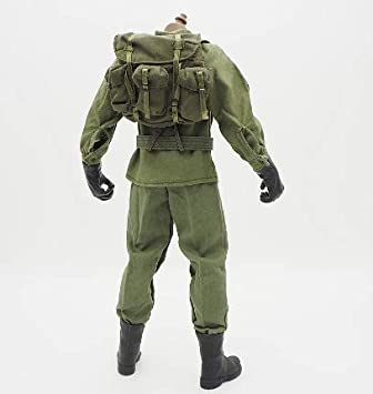 Hasbro GI Joe WWII MILITARY KHAKI BELT W// POUCH 1//6 Scale Outfit Accessory
