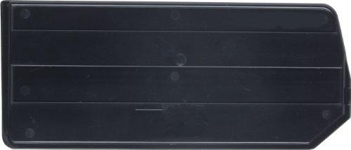 (Quantum DUS210 Plastic Divider for QUS210, 4-Inch by 2-Inch, Black, Case of 6 )