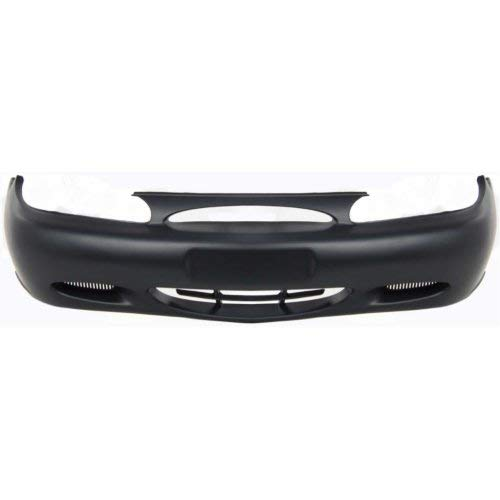 Front Bumper Cover Compatible with FORD ESCORT 1997-2002 Primed (Front Bumper Ford Escort Cover)