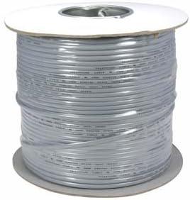 6P4C Modular Telephone//Phone Line Cable Cord Reverse Wiring 25Ft 28 Gauge RJ11