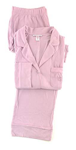 Victoria's Secret Sleepover Knit Pajama Set Large Violet Pearl