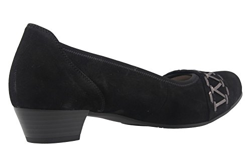 Gabor - Zapatos de vestir de Piel para mujer negro negro