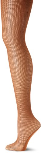 Capezio Women's Professional Fishnet Seamless Tight - stylishcombatboots.com