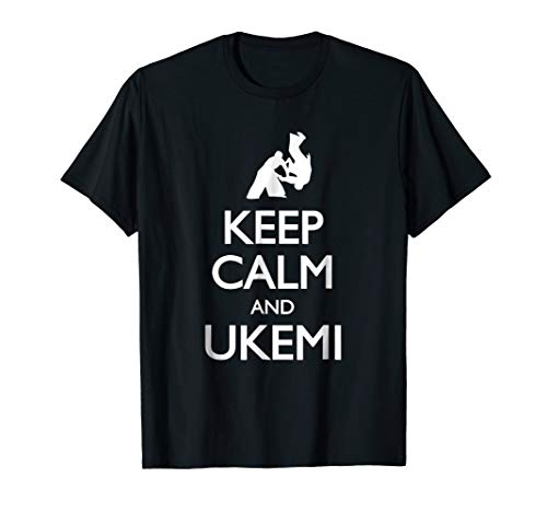(Aikido T-Shirt - Keep calm and Ukemi)