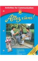 Holt Allez, viens!: Activity for Communication Level 1 (French and English Edition)