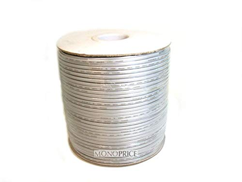 (Monoprice 8 Wire, UL, 26AWG, Stranded, Silver - 1000ft)