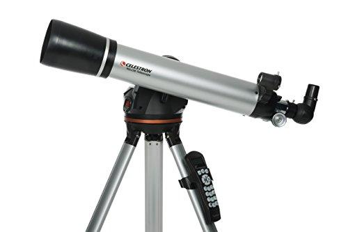 CELESTRON 天体望遠鏡 LCM90 屈折式 自動導入 経緯台式 英語版ハンドコントローラー 口径90㎜ 焦点距離660㎜ CE22054-US