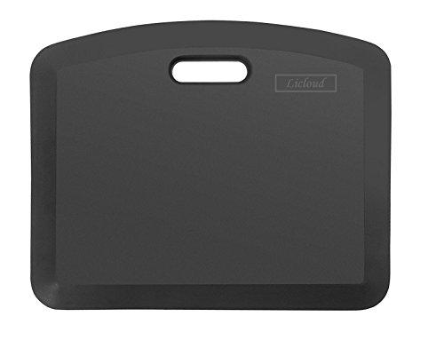 Licloud Comfort Anti Fatigue Mat Ergonomically Engineered Perfect for Kitchens and Standing Desks Desk Adjustable Desk Riser(18