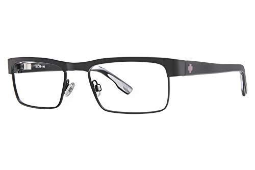 Spy Optic Unisex Cullen Matte Black/Black Horn Reading Glasses