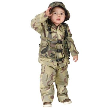 Toddler Authentic Delta Force Costume - 3T-4T
