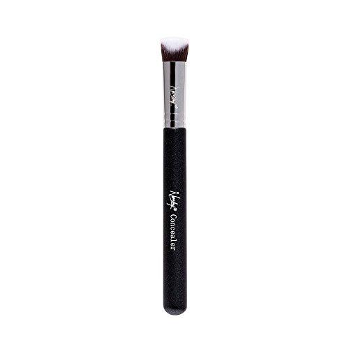 (Nanshy Concealer 3d Makeup Brush   Under Eye Precisely Shaped (Onyx Black))