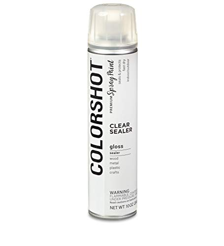 COLORSHOT Matte Sealer Spray Paint, Clear (Duncan Ceramic Spray)