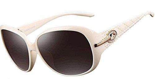 ATTCL de soleil UV400 Lunettes Blanc Polarisées Femmes Vintage z67vrnAz