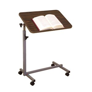 OVER BED TABLE TILT P2601 1 per pack by ESSENTIAL MEDICAL ***