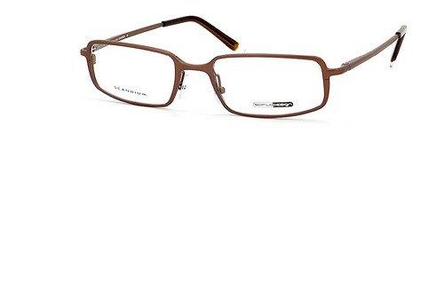 Safilo Design Eyeglasses 136 ZS4 Brown Full Rim Optical Frame - Safilo Optical