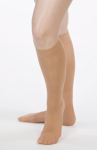 Allegro 8-15 mmHg Essential 81 Sheer Support Knee High Compression Hose