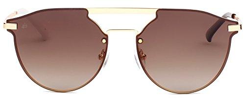 PRIVÉ REVAUX ICON Collection The Parisian Designer Polarized Round Sunglasses
