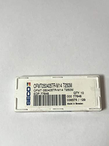 10pcs//Box SECO OFMT 050405TR-M14 T250M OFMT050405TR-M14 T250M