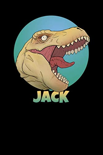 (Jack: T Rex Dinosaur 100 Lined Pages Journal Notebook - 6