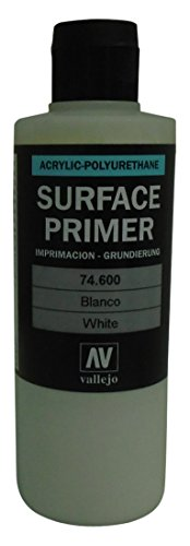 Vallejo White Primer Acrylic Polyurethane, 200ml