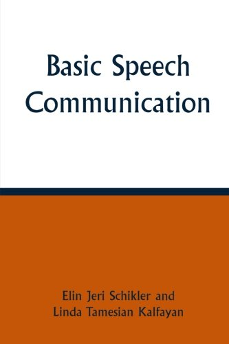 Basic Speech Communication