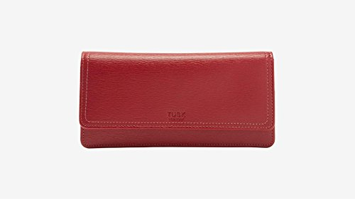 tusk-madison-gusseted-clutch-wallet-la-434-red