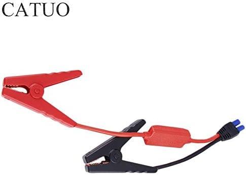 CamKpell Professionelle Batterieklemmen f/ür Auto Notfall Kabel Starthilfe Clip Auto Motor Booster Lagerung Batterieklemme