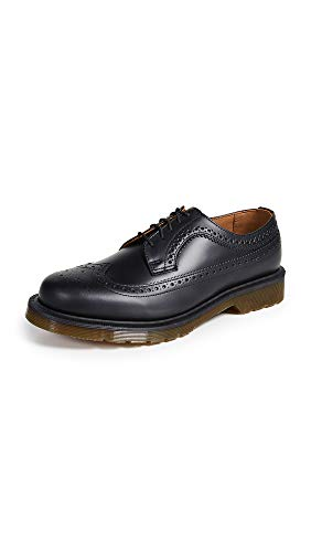 Dr. Martens Men's 3989 Brogue Lace Up Shoes, Black, 11 M - 3989 Martens Shoe Brogue