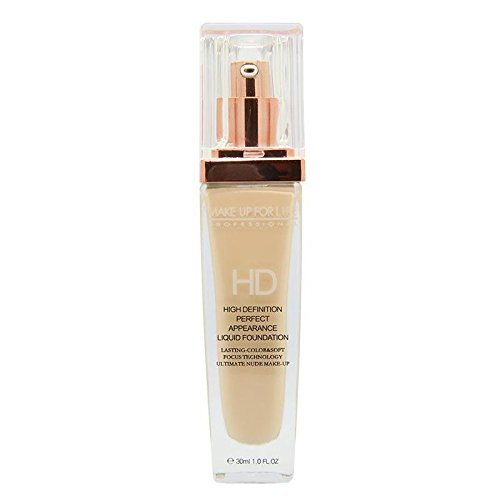 (Foundation Makeup Long Lasting Face Liquid Cream Foundation Concealer Waterproof Full Coverage Flawless Foundation Ivory (01))