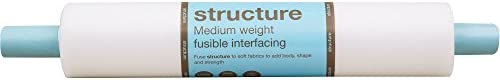 Fairfield Structure Sided fusible White product image