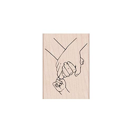 (Hero Arts H6300 Woodblock Stamps, Holding)