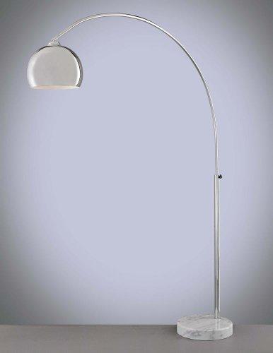 George Kovacs Chrome Floor Lamp - George Kovacs P053-077, George's Reading Room, Arc Floor Lamp, Chrome