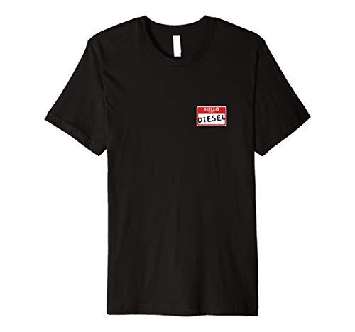 Diesel Womens Clothing - Hello I Love Diesel T-Shirt Funny Diesel Power Mechanic Tee
