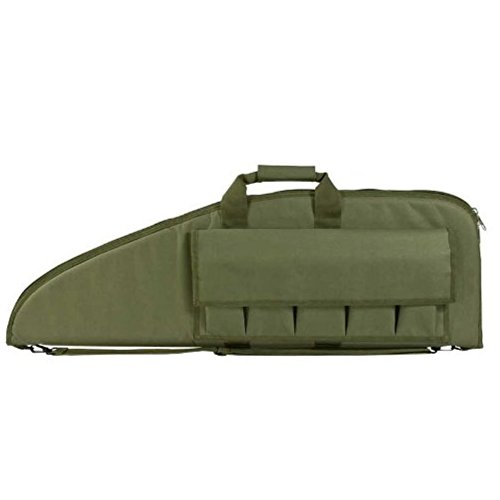 VISM by NcStar Gun Case, Green, 42″L x 13″H