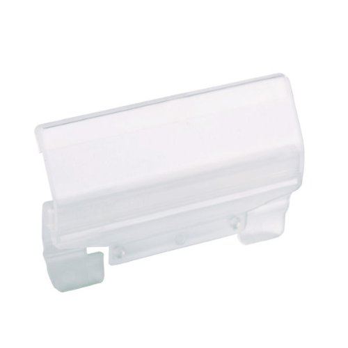 Plastica 50/pezzi Leitz 61160003/Portacartellini per sospesi Alpha 60/mm 4/cifre Trasparente