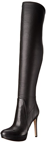 Sam Edelman Women's Amber Boot, Black Stretch Leather, 6.5 M US