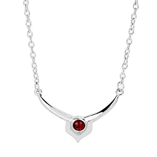 Inveroo Anime Jewelry Code Geass Lelouch Lamperouge Red Crystal Pendant Necklace Cosplay Xmas Gift Necklace for Men Women (Code Geass Contacts)