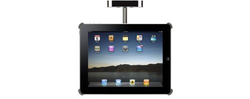 Cabinet Mount for Original Ipad, Black (Ipad Under Counter Holder)