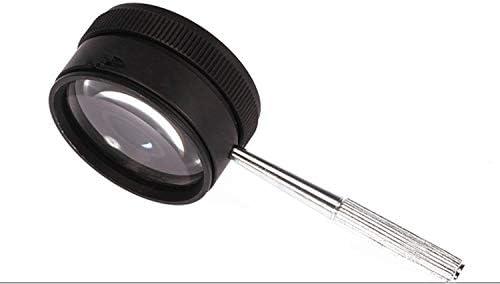 ZY-YY ガラス、ハンドヘルド便利なダブルレンズ拡大鏡、老人読書ハイエンドギフト拡大鏡