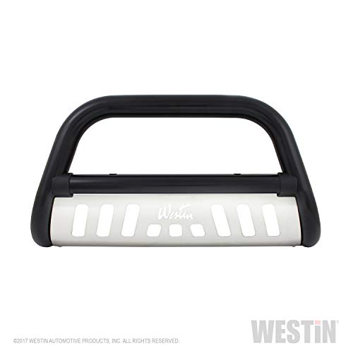 Westin 32-2115 Ultimate Black Powdercoated Stainless Steel Grille Guard