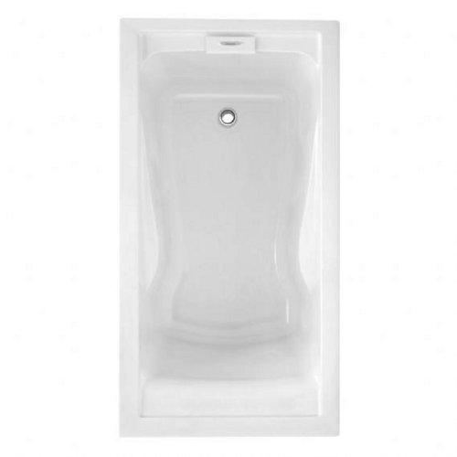 American Standard 7236V068C.020 Evolution 6-Feet by 36-Inch Deep-Soak EverClean Air Bath, White