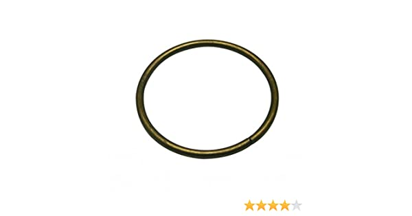 52261838b7d3b Amazon.com: Generic Metal Bronze Large Size Annular Ring Buckle 3