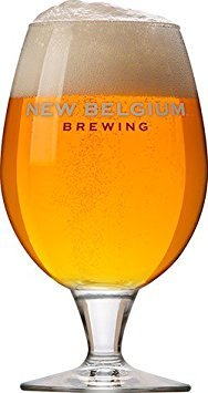 New Belgium Brewing Co. Globe Beer Glass - 16 oz