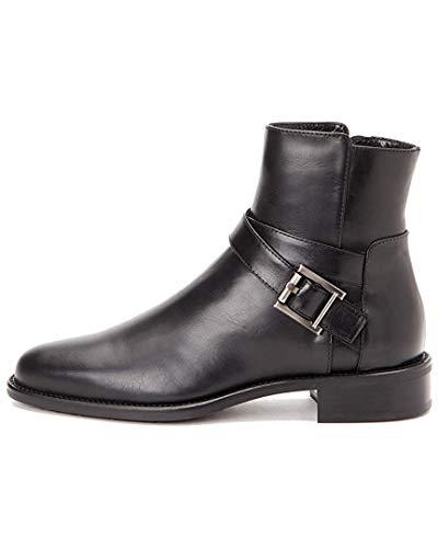 - Aquatalia Womens Nellie, Black Calf, Size 8.5
