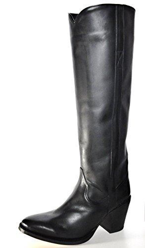 Tony Mora Handmade Boots Irene Palermo, Damen Stiefel Schwarz
