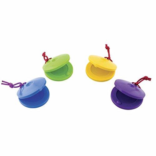 Plastic Finger Castanets - Set of 4