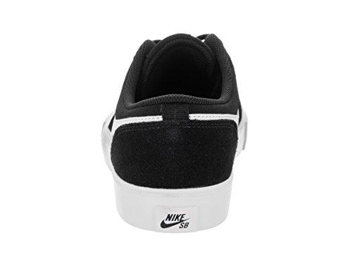 Nike Boys SB Portmore II Skateboardschuh Schwarz-Weiss